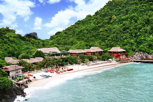 Insel Cat Ba, Monkey Island Resort